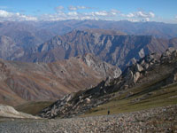 Trekking in the Tien Shan Mountains
